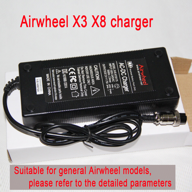 Original Airwheel X3 X8 Electric unicycle charger 67 2V general charger