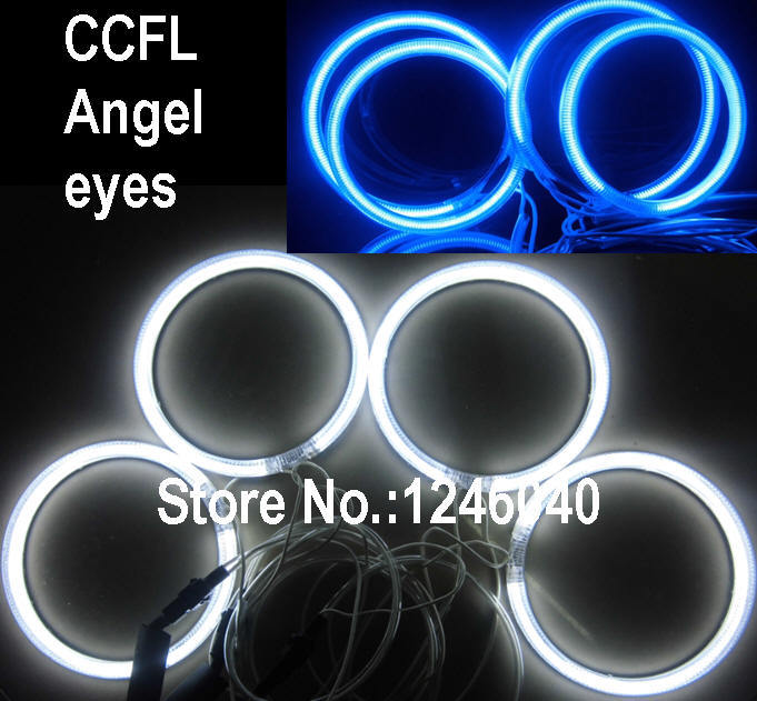 High Quality Ccfl Angel Eyes Halo Ring Kit For Bmw E46 Coupe 2D 2 Door-8364
