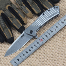 ZT0801 All Steel Ball Bearing Knives Tactical Folding Knife Survival Camping Knives Rescue Outdoor Knife Edc Tools Dropshipping