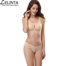 LELINTA New Quick Dry Women Sports Bra Top Seamless Push Up Yoga bra With Padded For