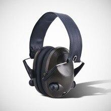 Тактическая гарнитура, активные наушники с шумоподавлением, умные звуконепроницаемые наушники для стрельбы, звукосниматели, защита от шума