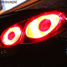 CSZ ECP задний светильник Emboitement для VW CC, лампа заднего хода* 2, Тормозная лампа* 4, задняя противотуманная фара* 2, лампа заднего хода* 2, лампа задней ширины
