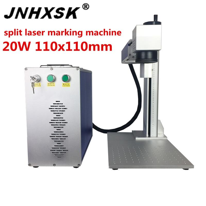 Fiber Laser Marking Machine Protable Mini Desktop Raycus Laser Source 20w 110/220 Genuine Motherboard