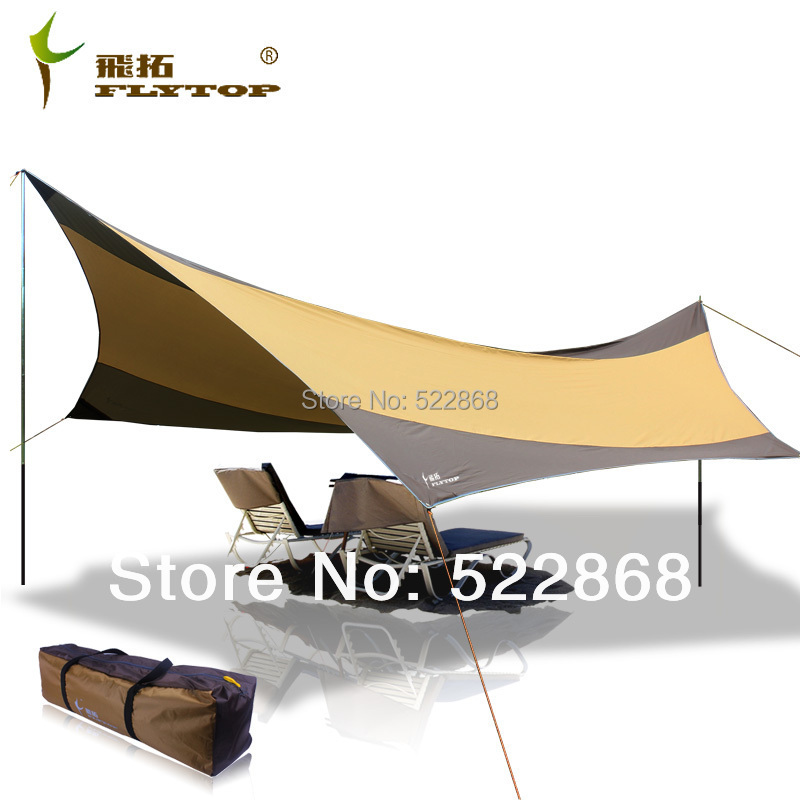 2014 new style high quality 550 560CM waterproof and uv bivvy awning camping tent shelter beach