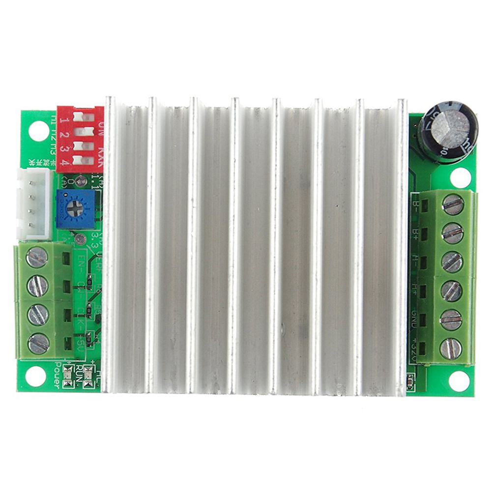 New Style 4.5A TB6600 TB6600HG Single Axis Stepper Motor Driver Module Controller Replace TB6560 ALI88 Stepper Drive Board