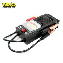 TIROL t16594a Цифровой автомобиль automative автомобильного Авто Батарея тестер проверки анализатор 12 В 100A Напряжение Индикатор Бесплатная доставка