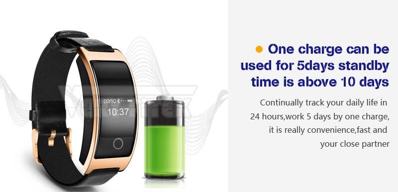 VERYFiTEK CK11S Fitness Bracelet Blood Pressure Smart Wristband heart rate monitor pulsometer Bracelets for xiomi pk fit bit-01 (14)