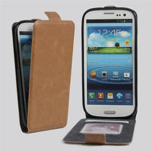 For Samsung SIII Vintage Flip Wallet Phone Leather Cover Case For Coque Samsung Galaxy S3 I9300 S 3 III With Card Slots Holder
