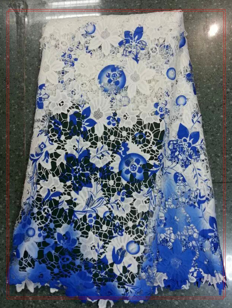 French Tulle Net Lace African Embroidery Chantilly Fabric Swiss Voile Lace Dress