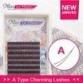 0.12 JBC 8-12mm 2pcs/lot A Type Eyelash Extension High Quality Mink Eyelash Extension Individual Eyelashes Natural Eyelashes