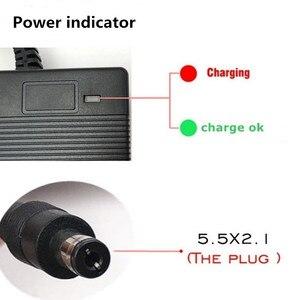 Image 2 - 42V2A chargeur de batterie au lithium de haute qualité 36V Li ion & li po chargeur de batterie pour ebike avec DC5.5 * 2.1 & 5.5*2.5 certification CEcertification