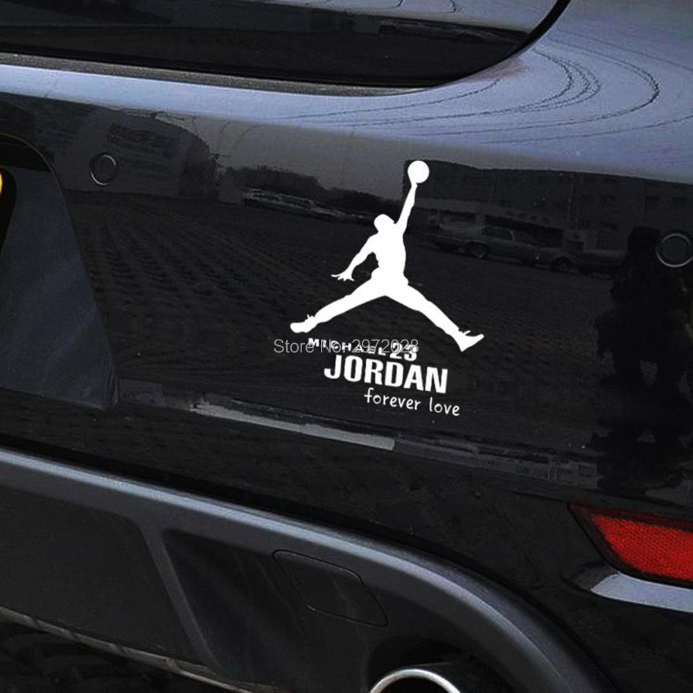 b126d6165ead88 10 x Newest Stickers Forever 23 Forever MVP Michael Jordan Car Stickers Car  Decal for Toyota Renault Opel Peugeot Tesla VW Lada-in Car Stickers from ...