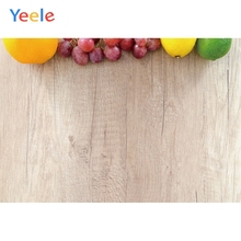 Yeele Wood Natural Photocall Fresh Fruits Wallpaper Photography Backdrops Personalized Photographic Backgrounds For Photo Studio