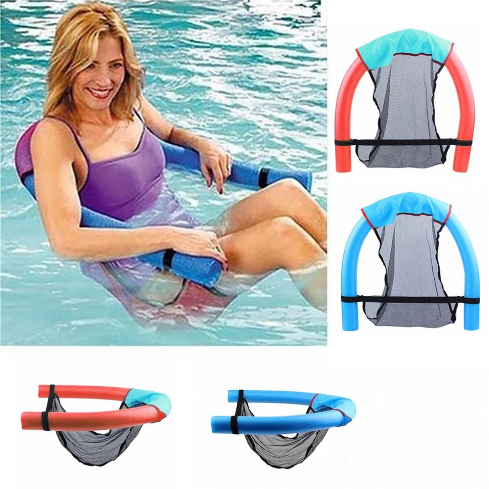 6.5*150cm Portable Swimming Pool Super Buoyant Plastic Foam Floating Chair Floating Water Supplies For Children Adult New