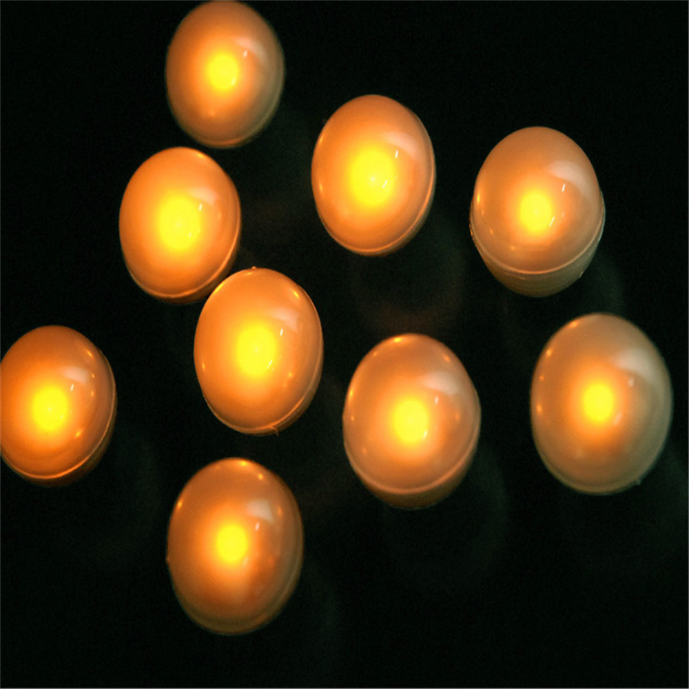 Wedding&Home Party Events Garden Decoration Floral Arrangements Floating LED Pool Light With Battery Installed