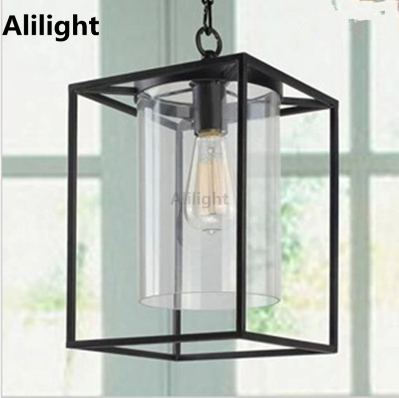 Vintage Personality Pendant Lamp Horn Outdoor Lighting