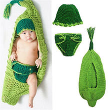 Baby Girls Boy Crochet Hat +Diaper Shorts Pupa Sleeping Bag Photo Props Newborn-24Months Handmade Infant Knitted Insect Outfits