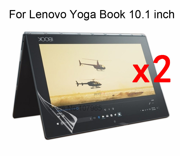 2pcs/bag High Clear Soft Anti-fingerprint Screen Film Protector For Lenovo Yogabook 10 For Lenovo Yoga Book 10.1 Tablet A Great Variety Of Goods Tablet Accessories