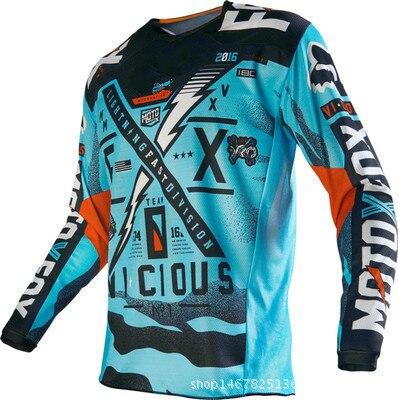 Prix pour 2017 Fx Rapide Remise D'été Vêtements D'équitation À Manches Longues Chemise Masculine Vtt Moto vélo de Course Personnalisé