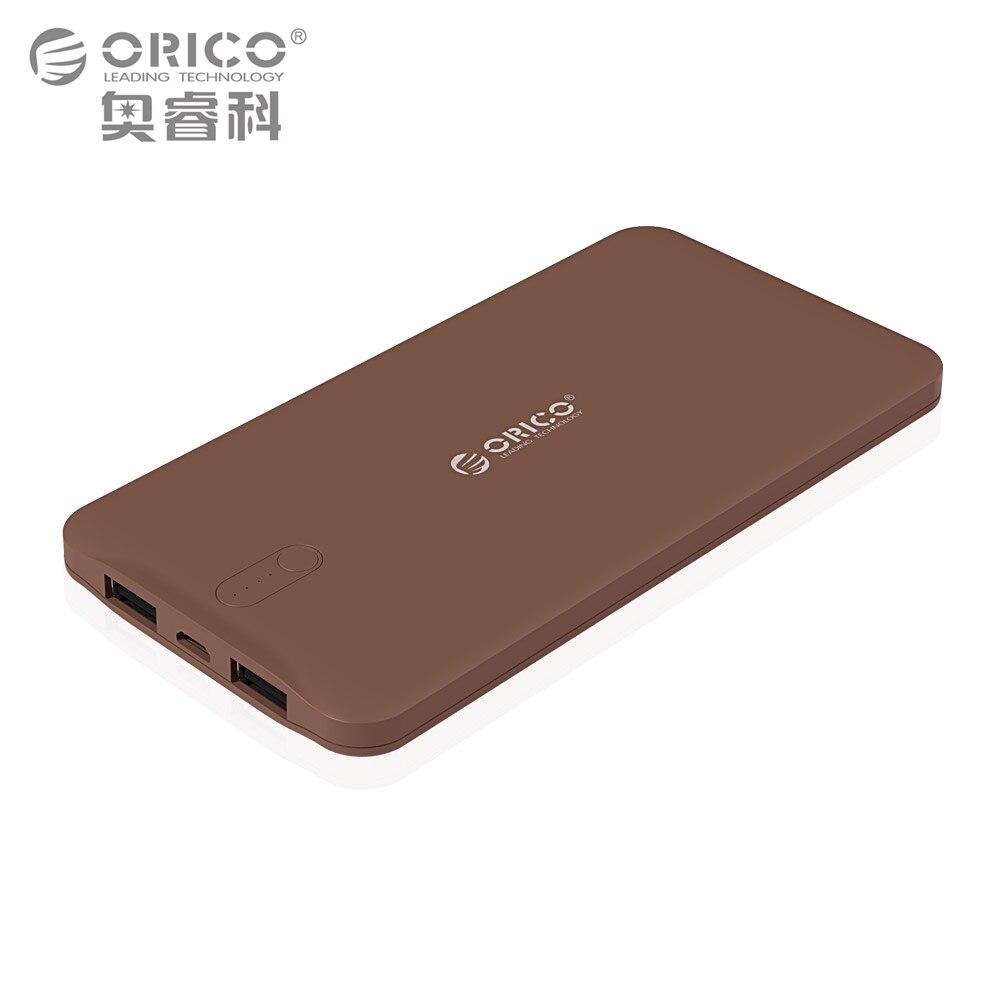 imágenes para ORICO 5000 mAh Nuevo Banco Portable Del Cargador de Batería Externa Móvil Poderes de Copia de seguridad para Dispositivos Inteligentes