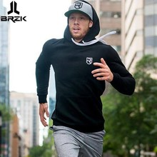 2017 New Mens cotton Hooded sweatshirt Autumn Winter Fitness workout Hoodies Joggers Brand clothes Sportswear Man pullover tops