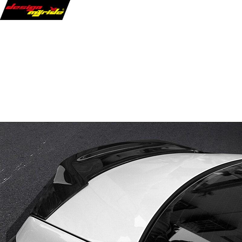 Mercedes e-класса W207 C207 2-купе renntech стиль CF углеродное волокно задний багажник крылья спойлер для bnez E200 e250
