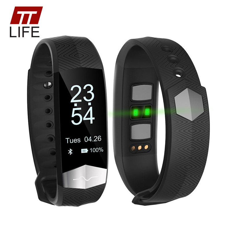 TTLIFE 2017 Heart Rate Monitor Bluetooth Relogio Masculino Smart Watch Waterproof Smart Bracelet Watches Women for Android IOS cute love heart hollow out bracelet watch for women