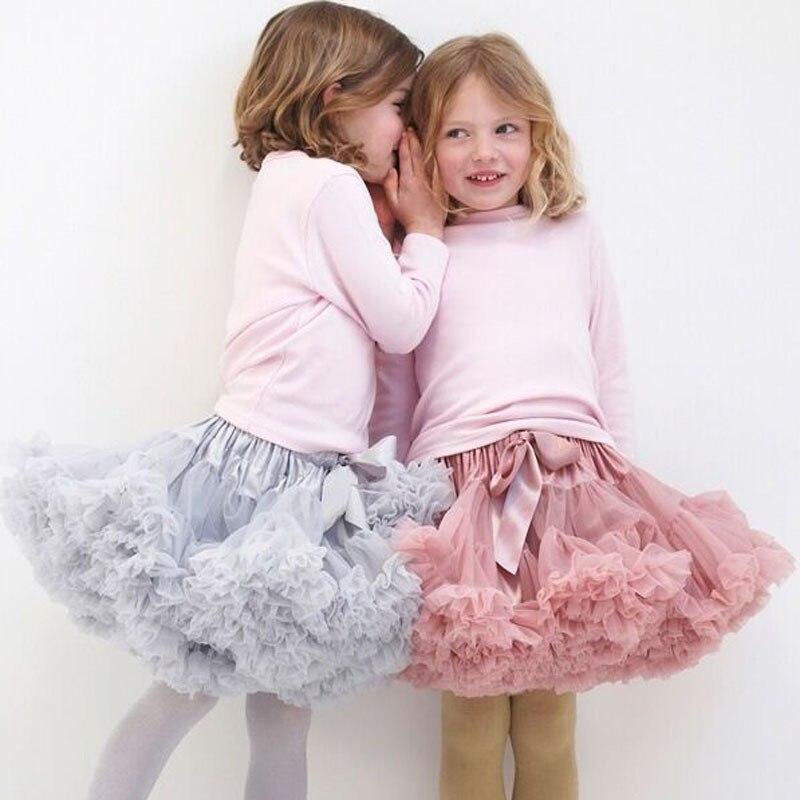 100% Waar Baby Meisjes Prinses Tule Kinderen Ballet Kids Pettiskirt Baby Meisje Rokken Tutu Rok Pluizige Party Dance Rokken Voor Meisjes Goedkope Keuze Materialen
