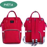 Pyeta maternity mummy nappy bag brand large capacity baby bag travel backpack desinger nursing diaper bag.jpg 200x200