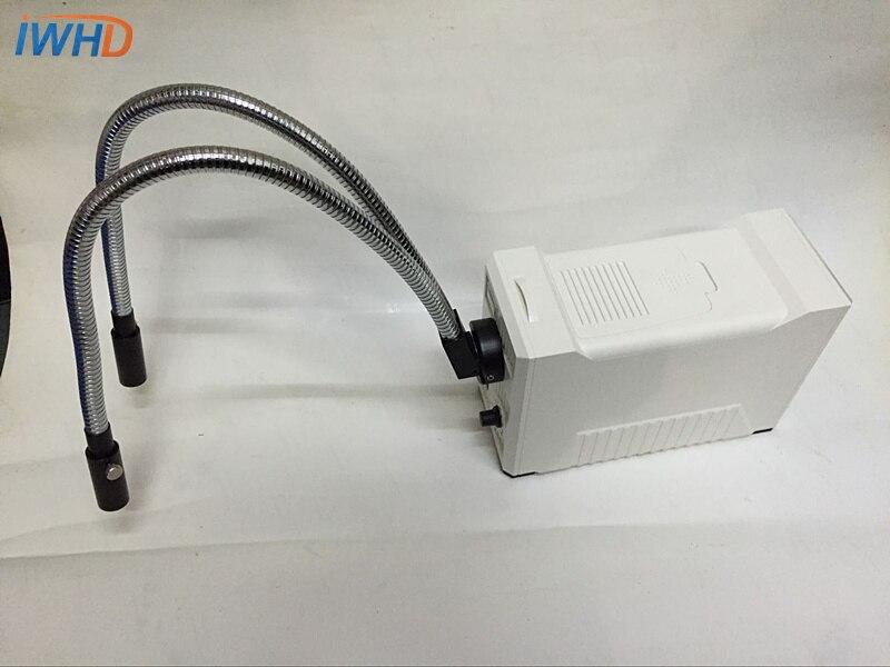 Microscopio fonte di luce fredda sorgente luminosa sorgente di luce luminosità regolabile strumento di diagnostica luce bianca calda Attraverso Il foro di 9 millimetri - 3