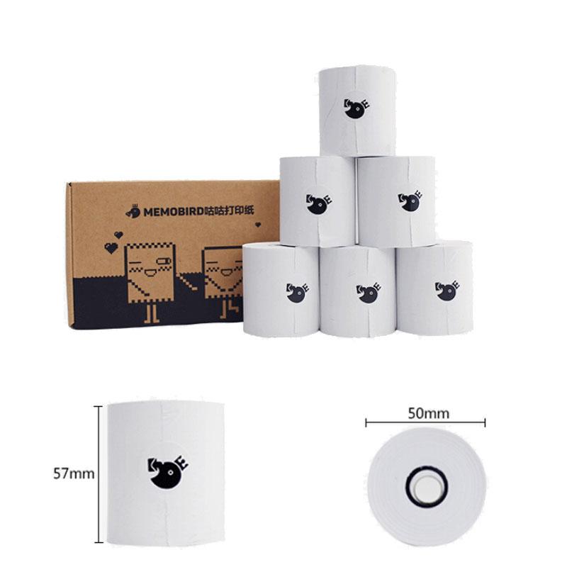 Prix pour Haute qualité MEMOBIRD photo imprimante thermique imprimante Papier 57*50mm impression papier PAS Inclus bisphénol Un