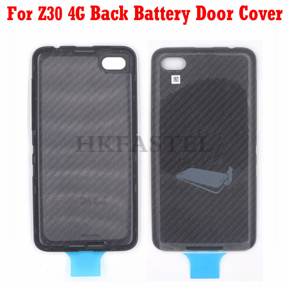 HKFASTEL New Original housing For BlackBerry Z30 4G Back battery door cover with volume button(China)