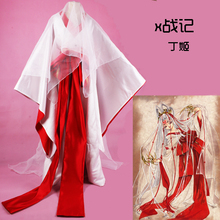 X CLAMP Hinoto Women Cos Anime Party Cosplay Costume Uniform Witch Kinomo Custom Made Dress custom made anime phoenix wright ryuichi naruhodo dress fashion uniform cosply costume shirt coat pants