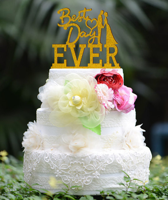 glitter cardstock Wedding Cake Topper silhouette Monogram Mr and Mrs ...