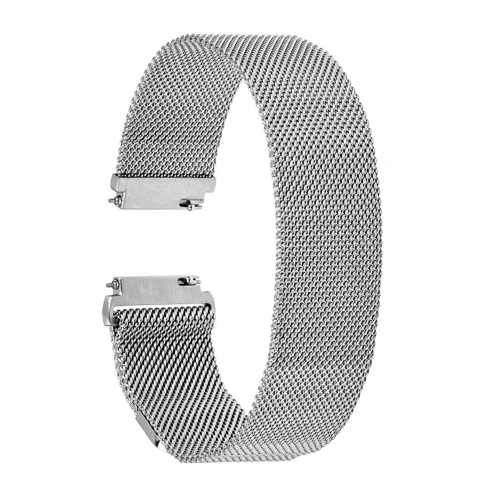 Correa de reloj milanesa de 22 mm Correa de reloj de acero inoxidable - Accesorios para relojes - foto 2