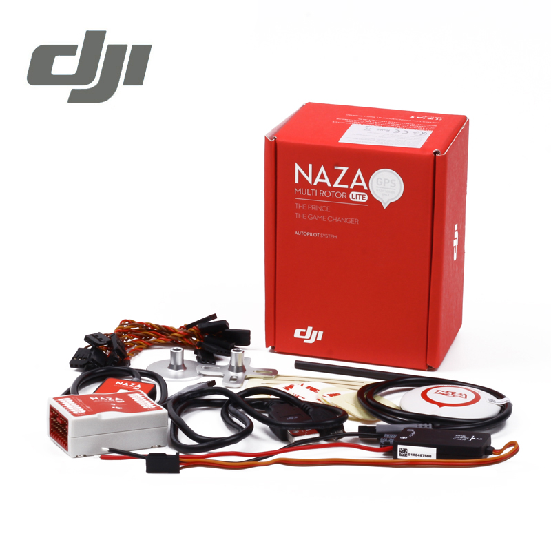 DJI Naza M Lite Flight Controller Naza-M Lite ( with GPS ) Multi-rotor Fly Control Combo for RC FPV Drone Quadcopter Original dji naza m lite multi flyer version flight control controller w pmu power module