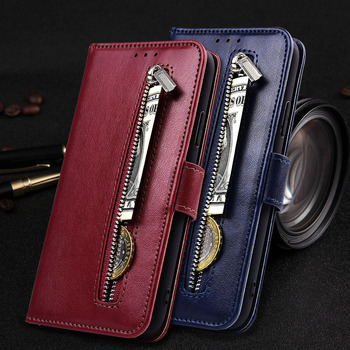 Case for ASUS ZenFone 4 Max ZC520KL ZC 520KL ZC520 KL Case Soft TPU Zipper Wallet Flip Leather Case 4 Max ZC520KL Coque Fundas image