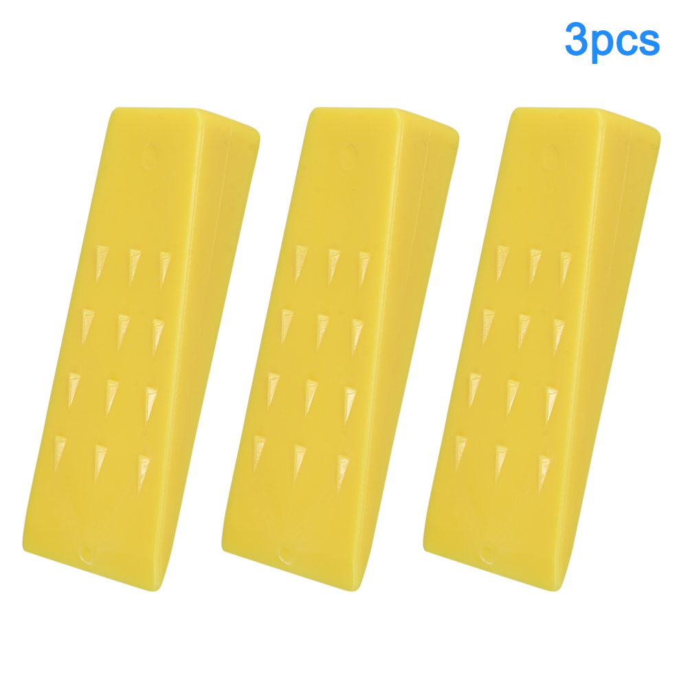 3Pcs Tree Felling 5Inch Wedges For Logging Falling Cutting Cleaving Chainsaw QJ888