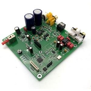 Image 4 - ES9038 Q2M I2S DSD Decoder Coaxial Fiber Input DAC Decoding Board HIFI Audio Amplifier Board F7 003