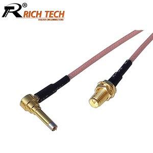 1 шт. RP SMA женский к MS156 Удлинительный кабель RF коаксиальный кабель Pigtail RG316 RF адаптер провода разъем в сборе