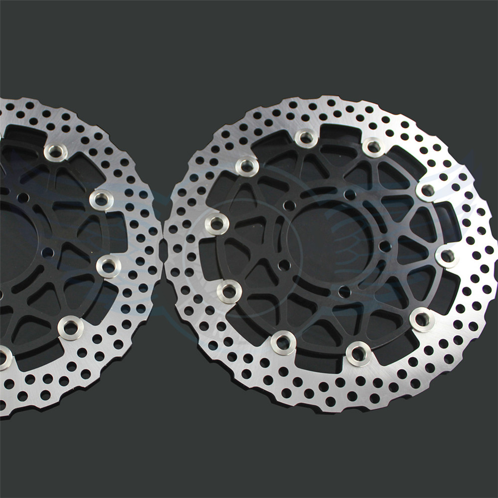 new brand Motorcycle Aluminum alloy inner ring & Stainless steel outer ring front Brake Disc Rotor For KAWASAKI Z 800/ABS 2013  цены