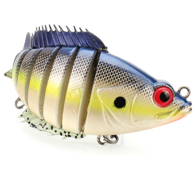 ABS`12cm36g vivid Multi pieces fish for lure fishing smart big fish in the ocean or river all water level ...