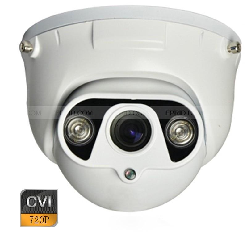 HD-CVI 720p 1.0MP 3.6mm Metal Dome Camera 2 Array IR CVI Security Camera hd cvi security bullet camera cvi 720p 1 0mp 2 array ir leds 6mm lens