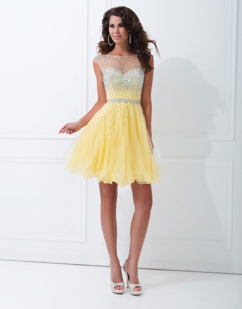 Compare Prices on Yellow Homecoming Dresses- Online Shopping/Buy ...