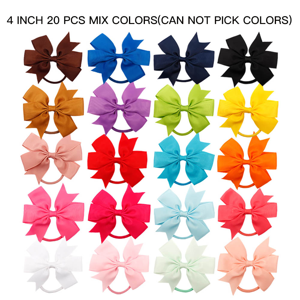 1Pack Wholesale Hair Accessories Baby Headband Grosgrain Ribbon Hair Bows for Girls Handmade Hair Clip Kids Hair Band Children in Hair Accessories from Mother Kids