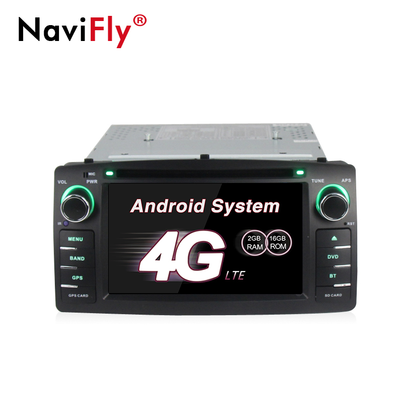 navifly 2 din android 7 1 car dvd radio player for toyota. Black Bedroom Furniture Sets. Home Design Ideas