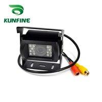 KUNFINE 12V 24V Universal Car Rear View Camera Backup Reversing Parking Rearview Cam Night Vision Waterproof