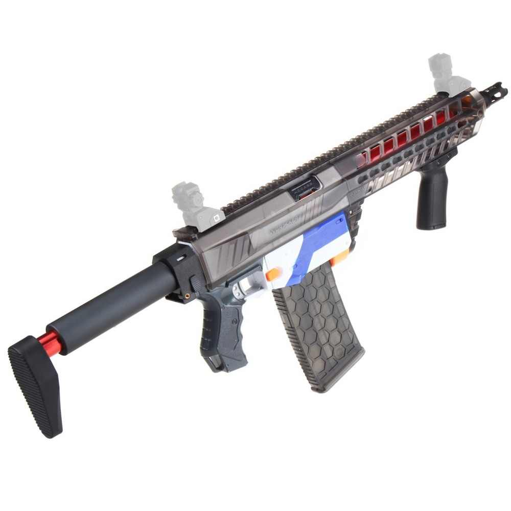 Worker Side pull Modified Accessory for Nerf Retaliator
