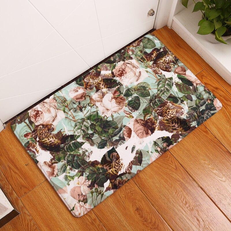 20 Style Floral Print Teppiche Anti-Rutsch-Bodenmatte - Haustextilien - Foto 5