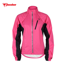 Tasdan Women Cycling Jacket Vest Winter Wind Water Proof with Zipper Off Detachable Clothings